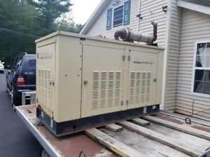 Generac 35 Kw 120 240 Volts Single Phase 350 Amps Protector Standby Generator
