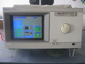 Hp Agilent 16500b Logic Analysis System With Three 16555a Cards All Tested