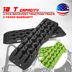 2pcs Recovery Track Traction Sand Snow Offroad Driving Accessories 2 Color