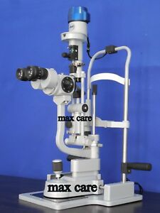 Optical Slit Lamp With Applanation Tonometer With Led Lamp