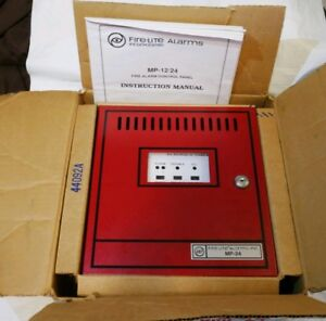 Fire lite Mp 24 Fire Alarm Control Panel W Transformer New Old Stock no Board