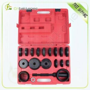 23pcs set Front Wheel Drive Hub Bearing Adapter Press Kit Removal Puller Tool