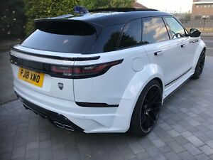 Range Rover Velar Lumma Desgn Bodykit Body Kit Wide Clr Gt 22 Wheels And Tyres
