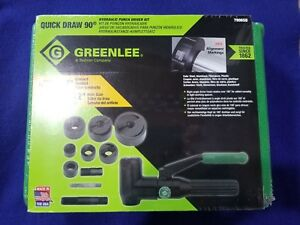 Greenlee 7906sb Right Angle Quick Draw Punch Driver 90 Degree