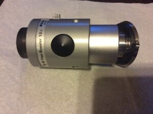 Nikon Mplan Booster Objective For Optical Comparator 10x With Turrett