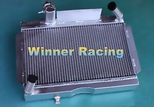 Fit Mg Mga 1500 1600 1622 De Luxe 1955 1962 56 57 58 59 60 61 Aluminum Radiator