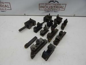 Aloris Bx Quick Change Tooling Various Chinese Tooling 12 Piece Lot See List