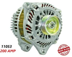 200 Amp 11053 Alternator Mitsubishi Lancer Evolution High Output Performance New