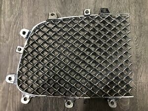 2009 2011 Bentley Continental Gt Gtc Flying Spur Left Mesh Insert Grille Chrome