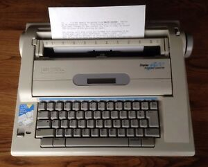 Smith Corona Lcd Display 800 Dictionary Electric Typewriter na3hh Working
