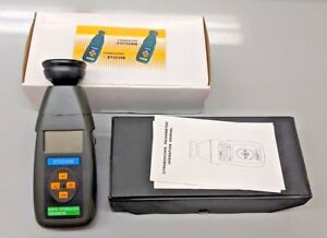 Dt2240b Digital Stroboscope Flash Tachometer 60 40 000 Rpm