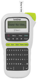Handheld Pth110 Labeler Label Maker Easy Portable P Touch One Touch Keys Qwerty