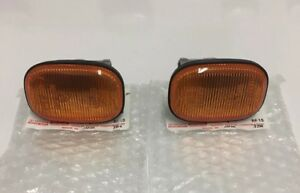 Toyota Ae100 Ae101 Amber Side Markers Pair Oem Jdm Corolla 93 97 Genuine Parts