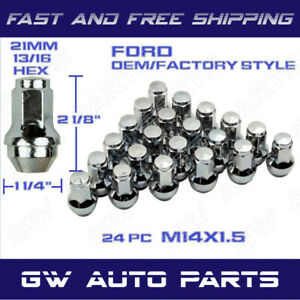 24 Pcs Ford Oem Factory Style Lug Nuts 14x1 5 Fit F150 Expedition 2015 2019