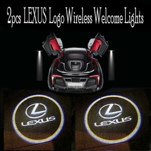 Led Logo Laser Car Door Courtesy Ghost Shadow Wireless Welcome Light For Lexus