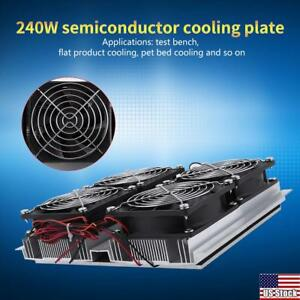 Diy Thermoelectric Peltier Refrigeration Semiconductor Cooling System Cooler