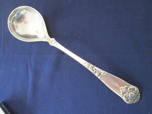 Lg Serving Spoon Vintage Th Marthinsen Sterling 830 S Nm Dovre Pattern Exc