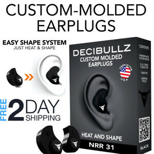 Earplugs For Shooting Protection Range Gun Noise Cancelling Small Canals Custom