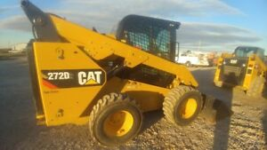 2015 Caterpillar 272d Cab A c Joystick Skid Steer Loader 991hrs New