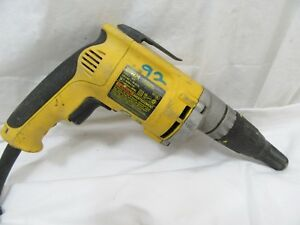 Dewalt Drywall Screwgun Dw274 Variable Speed Reversible 6 3 Amp