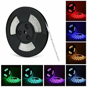 Nexlux Led Light Strip 32 8ft Waterproof Ip65 5050 Smd Rgb Led Flexible Strip
