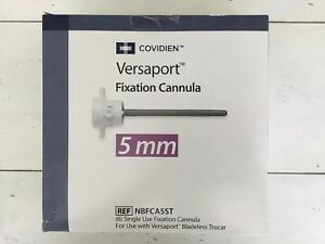 Covidien Versaport 5mm Ref Nbfca5st Exp 03 2020 6pcs