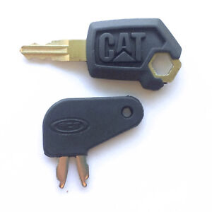 Caterpillar Cat Equipment Key Set Ignition And Master Disconnect Keys