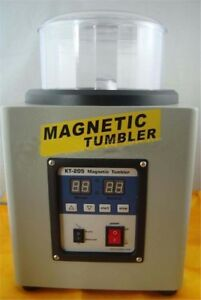 Magnetic Tumbler Polisher T205 Finisher Variable Speed 21cm Big Capacity Gh