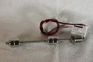 Madison Dual Float Switch With Type J Thermocouple Stainless Steel