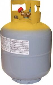 Mastercool 65010 50 Lb D o t Refrigerant Recovery Tank With Float Switch 1 4