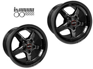 Racestar 17 X 10 5 06 19 C6 C7 Z06 Grand Sport Zr1 Drag Wheels dark Star