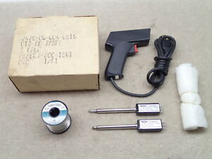 Weller Gt Soldering Gun Outfit With 6b And 7a Powerheads And Solder Roll Nice