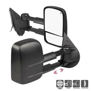 For 2007 2014 Gmc Yukon Side Rear Mirrors Towing Power Heated Lh rh