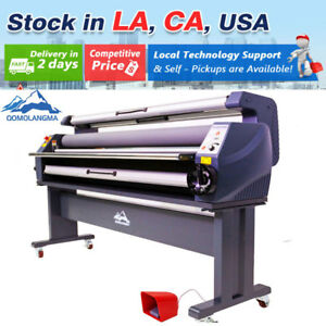 Usa 110v 1600mm Full Auto Wide Luxury Heat Assisted Cold Laminating Machine