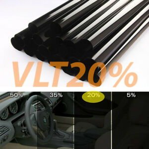 Uncut Window Tint Roll 20 Vlt 10 In X 20 Ft Home Commercial Visor Auto Film