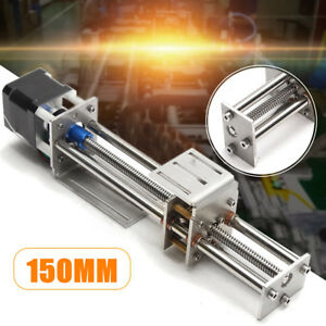 150mm Slide Stroke Mini Cnc Z Axis Linear Motion Engraving Machine stepper Motor
