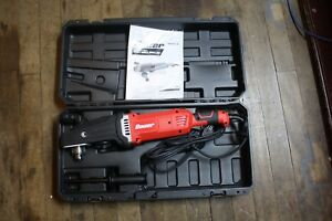 Bauer 13 Amp 2 Speed 1 2in Heavy Duty Right Angle Drill Kit Hole Hog usa