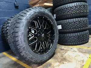 20x9 A2or2 Offroad Wheels 285 55r20 Fuel Gripper At Tires 5x5 5 Dodge Ram 1500