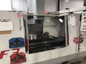 Used Haas Vf 3 Cnc Vertical Machining Center Mill Thru Spindle Tsc 4th Ready 99