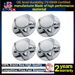 4 Pack 7 Center Hub Cap With 5lug Steel Wheel For 1997 1998 1999 2000 Ford F150