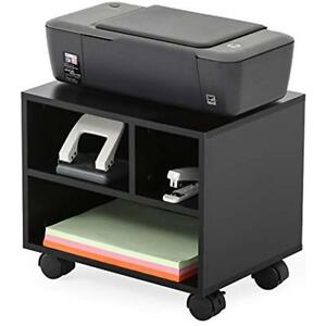 Mobile Under Desk Printer machine Stand work Cart With Wheels ps304003wb