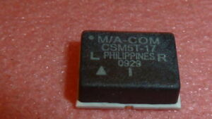 M a com Csm5t 17 Ic Band Termination Rf Mixer Up down Conv Wide 4 8ghz 3 pin Smd
