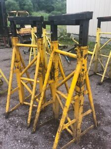 Truck Bus Jack Dual Column Stands 51 To 79 Estimated Sold Each
