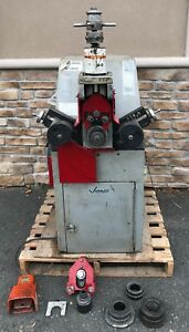 Victaulic Ve 414 Electric Hydraulic Self powered Roll Groover 2 16 Cabinet