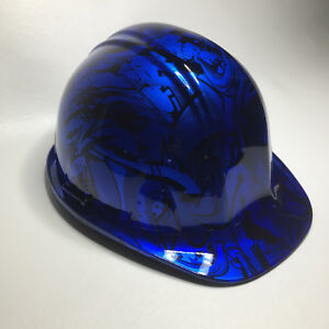 Hard Hat Sl Series Candy Blue Grafiti High Gloss W Brb Customs T shirt