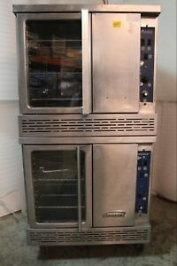 Imperial Double Stack Bakery Depth Gas Convection Oven Icvg 2