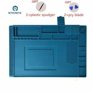 Phone Repair Soldering Work Pad Heat Insulation Silica Desk Maintenance Platform