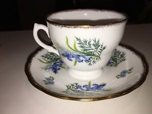 Royal Malvern Bone China Cup And Saucer Made In England