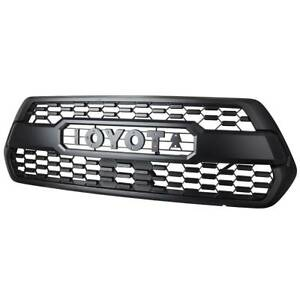 Front Bumper Oe Trd Pro Grille Kits For Toyota Tacoma 2016 2017 2018 Pt228 351