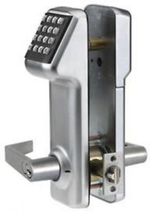 Access Cylindrical Lock Interchangeable Core 160 Codes Satin Chrome